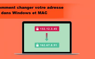 Cómo cambiar su dirección IP en Windows y MAC