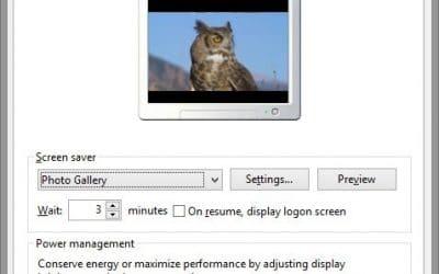 ¿Cómo puedo cambiar mi protector de pantalla?