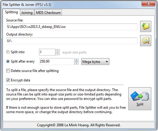 3 maneras de dividir y adjuntar archivos grandes