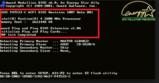 ¿Cómo encontrar el tipo, versión y fecha de la BIOS en su ordenador?