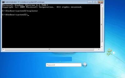 Consejo para restablecer la contraseña de administrador o Agregar un nuevo usuario en Windows 7