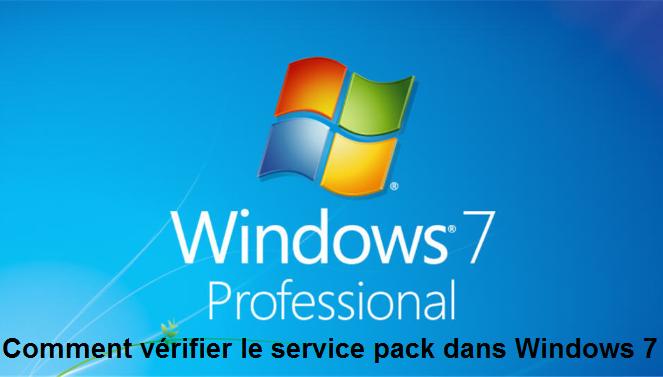 ¿Cómo comprobar el Service Pack instalado en Windows 7?