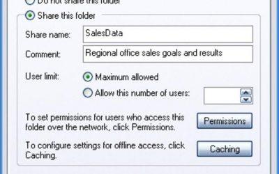 ¿Cómo puedo…. ¿Asegurar archivos NTFS de Windows XP y compartirlos?