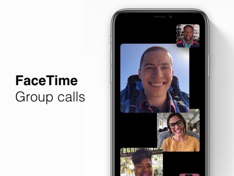 Cómo realizar llamadas de Group FaceTime en iOS 12.1