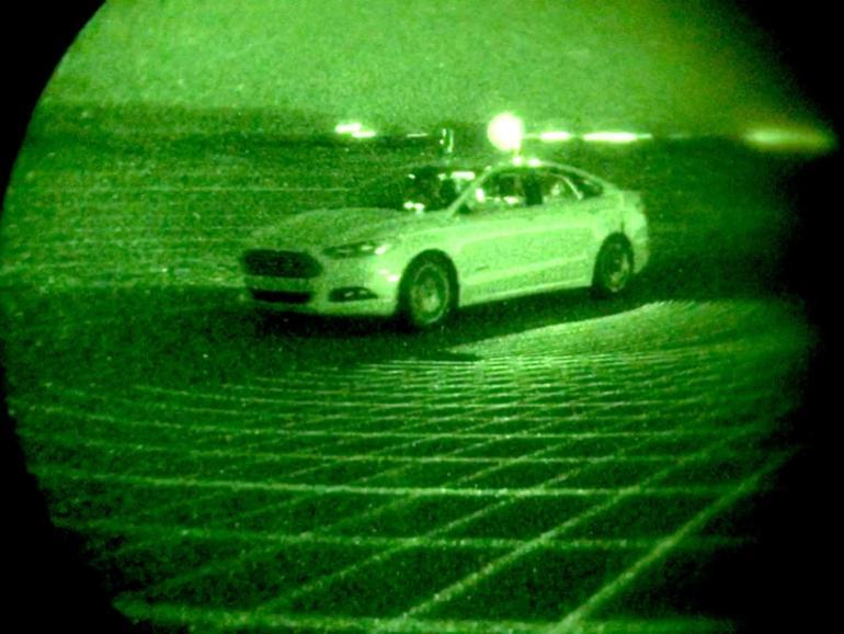 Cómo los coches autónomos de Ford pueden ver en la oscuridad, incluso sin faros delanteros