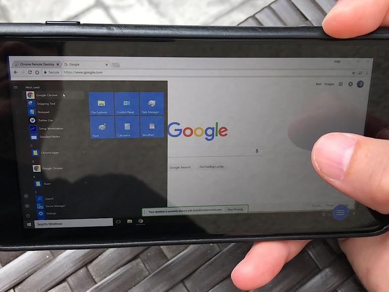 Cómo conectarse de forma remota con Chrome Remote Desktop