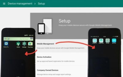 Cómo gestionar de forma más eficaz los dispositivos móviles en Google G Suite