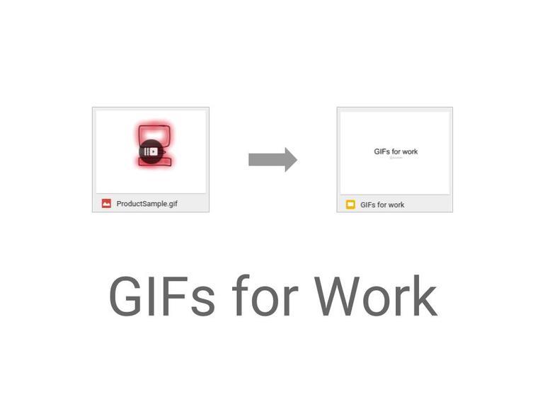 Cómo crear GIFs animados para presentaciones en el trabajo
