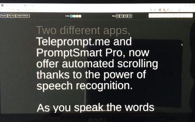 Cómo los teleprompters inteligentes pueden mejorar sus presentaciones de negocios