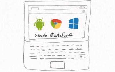 Cómo ejecutar más que aplicaciones web desde un Chromebook