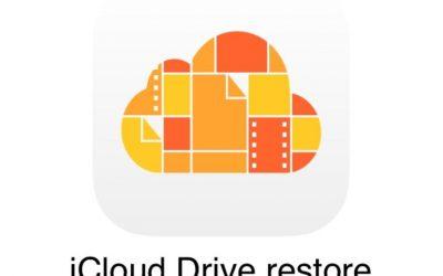 Cómo recuperar datos borrados de iCloud