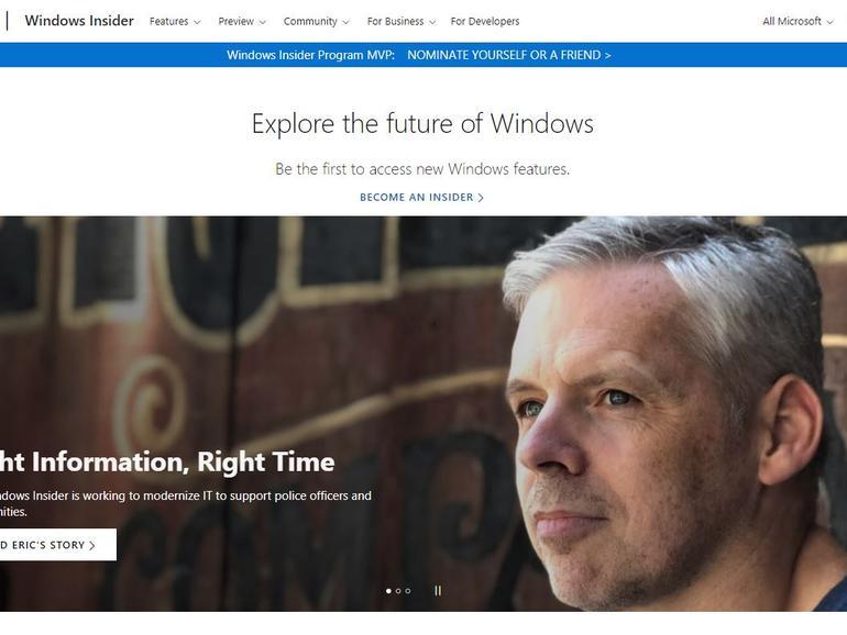 Cómo inscribirse en el programa Windows Insider
