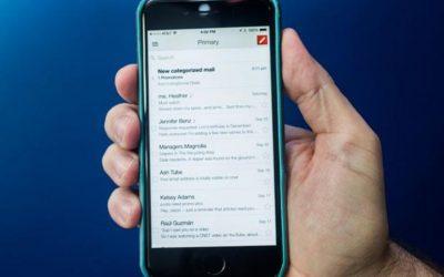 Cómo configurar las notificaciones por correo electrónico en iOS 12