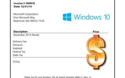¿Cuánto costaría una suscripción a Windows 10?