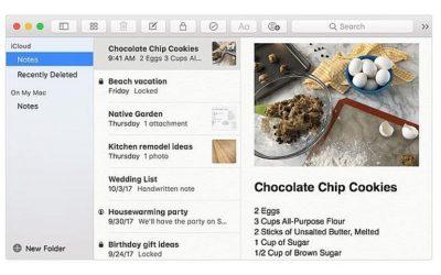Cómo maximizar Apple Notes usando macOS e iOS
