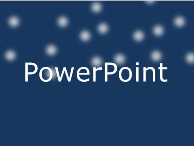 Cómo hacer que nieve en PowerPoint